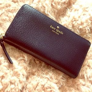 Kate spade ♠️ large Leather Wallet